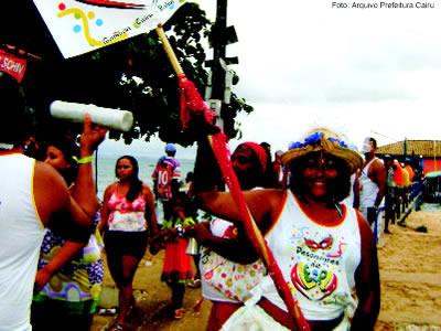 Tradicionais blocos desfilam no Carnaval